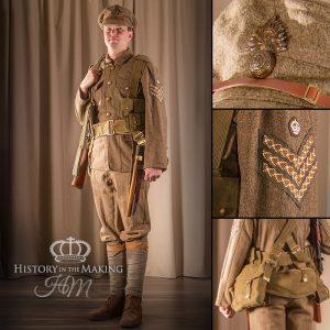 British Infantry, Sergeant, 1914