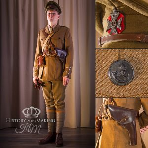 Officer, Rifles regiment, 1914-1918