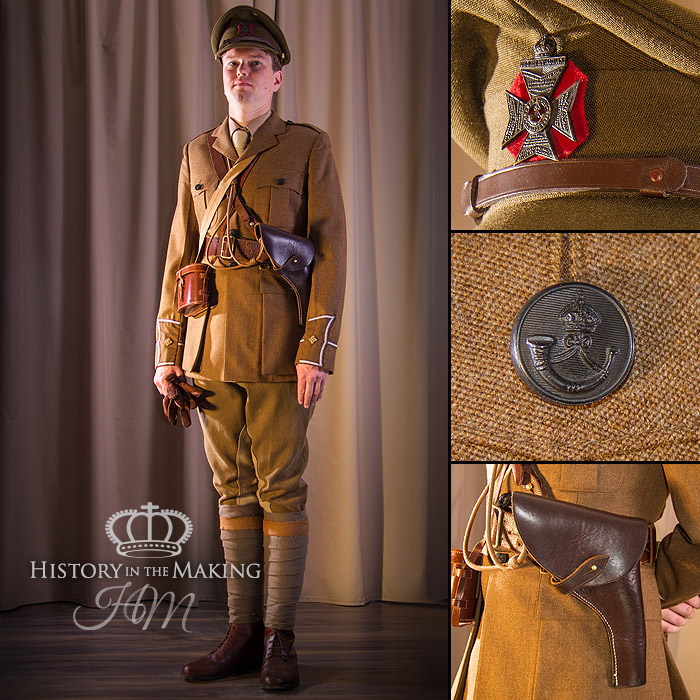 British WW1 Cavalry Trooper - History in the Making