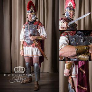 Roman General, 1st century BC- distressed armour