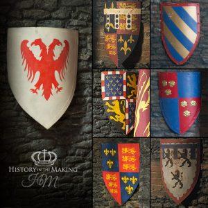 Medieval Flat Iron Shields