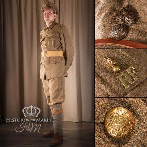 Basic british Uniform, 1914-1918