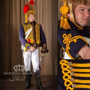 British 7th Hussar, full dress 1802-1815
