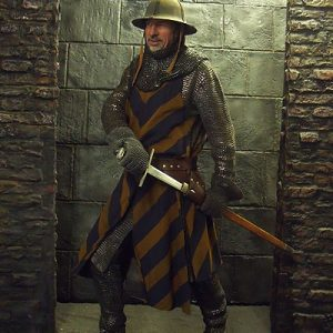 English Early Medieval Men-at-Arms - Costume