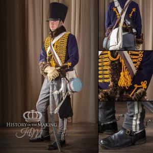 English Hussar, Campaign Dress, 1806-1815