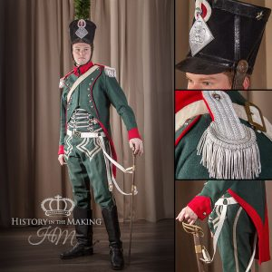 Napoleonic French Light Cavalry, Chasseur a cheval, Officer, 1806-1815