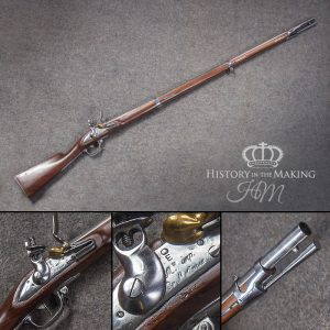 French Charleville Musket- 1777 pattern- .68 cal- Live Firing