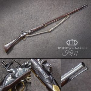 British Tower Armoury Long Land Pattern Musket- Brown Bess- .75cal- Live Firing