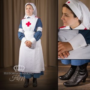Nurses Uniform, Ward Dress 1914-1918