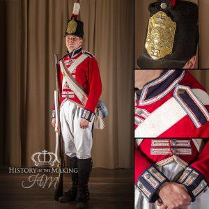 British Line regiment, 1802-1812
