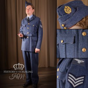 RAF Service Dress- 4 pocket- 1939-1945