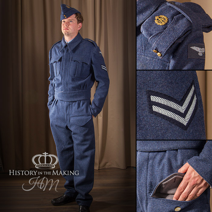 Royal Air Force-BD Uniform (1940-1945) - History in the Making
