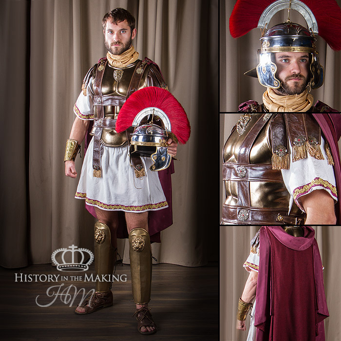 roman generals costume 2cbc ad1c history in the making. Black Bedroom Furniture Sets. Home Design Ideas