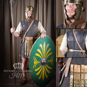 Roman Auxiliary Soldier, 1C BC-AD 1C