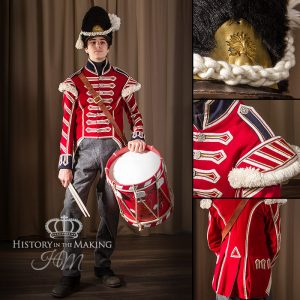 23rd Foot ( Royal Welch Fuzileers ) Drummer, 1812-1815