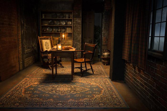 Scottish Cottage Interior Film Set Size 3m X 4m