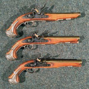 1700 English matched Pistols- Replica