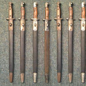 1907 British No1 Mk2 Bayonets - Original