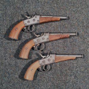 Victorian Rolling Block Pistols
