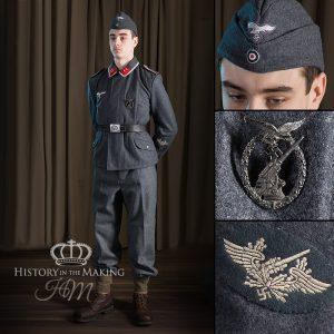 German Luftwaffe-Flack Artillery- Basic Uniform