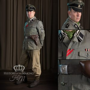 SS Infantry NCO (Rottenfuhrer)-Denim Uniform-1940-1945
