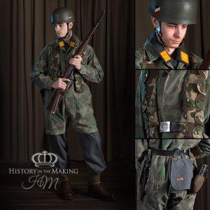 German Parachute Infantry- Basic Combat Dress-1939-1945