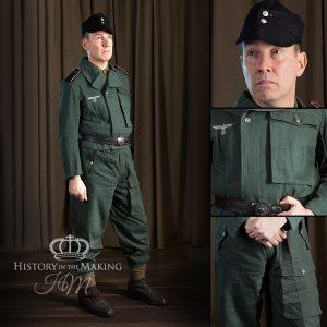 German Reed Green Denim Uniform - Armoured Vehicle Crew