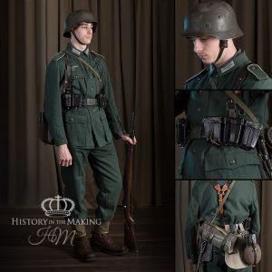 1940-German Private Soldier-Denim Uniform