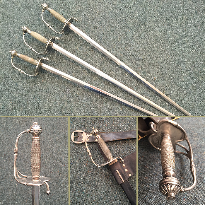 1660-english-short sword-small sword-filmprop-sword hire