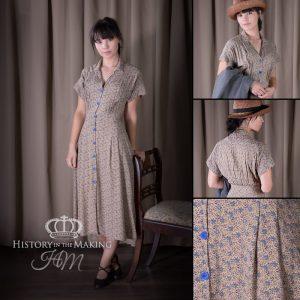 Summer Cotton Day Dress