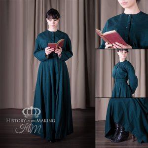 1860 Victorian Era plain day wear