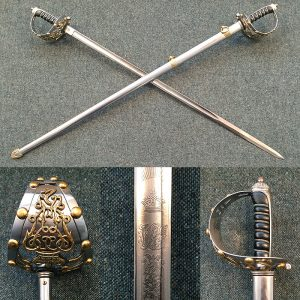 1872 Life Guard's officers sword
