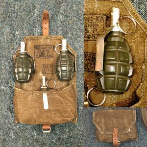 1944 Soviet F1 Hand Grenades - Inert