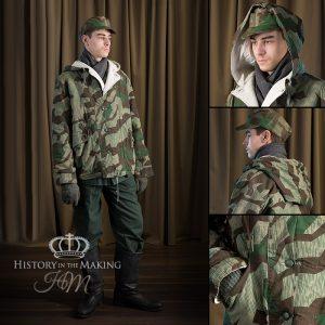 1939-1945 German Army Splinter Pattern Padded coat-reversable