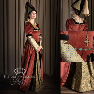 1440-High Status Ladies Costume