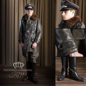 1941-Luftwaffe Pilot-Leather coat