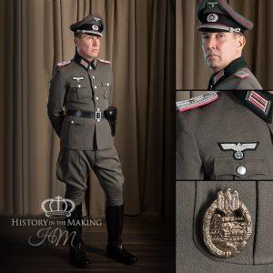 1941-German Officer-Dress Uniform-Panzer Division
