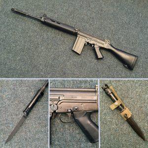 FN FAL - StG58 Self Loading Rifle - 7.62 cal - Live Fireing