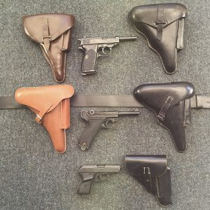 WW2 German Holsters - Walther P38 - Luger - Walther PPK
