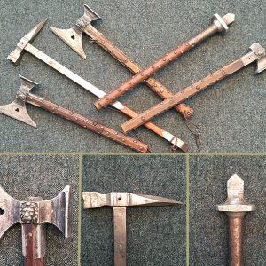 Medieval War Hammer-Aluminium Head