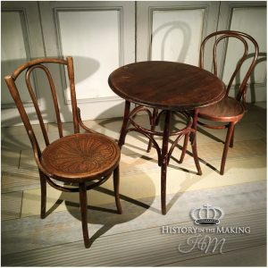 20th Century Cafe Table and Chair Set