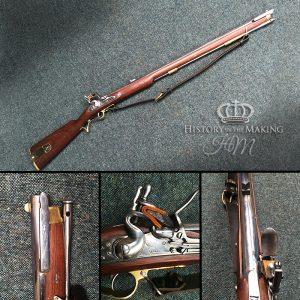 English Baker Rifled Musket.