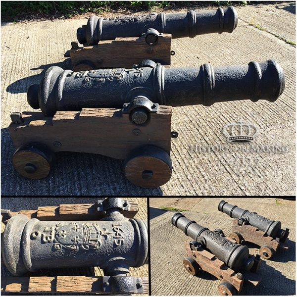 replica navy cannon, film prop cannons, royal navy, pirates, gun hire