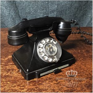 1930 Black Desk Telephone