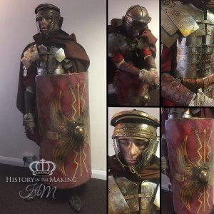 Roman Legionary, Battle Worn. 1st Century AD- winter