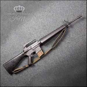 American Colt M16 Rifle. 556 cal- Live Firing