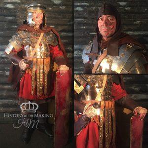 Roman Legionary 1st Century AD, Winter Dress, Campaign Dress