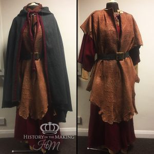 Pict Women's Costume, 1st Century AD-leather clad
