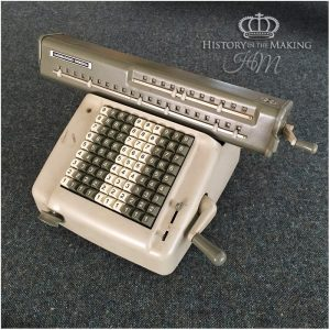 1960 Office Desk Calculator- Antique