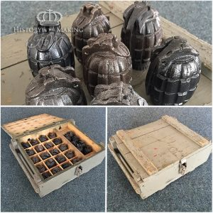British WW1 Mills grenades- resin cast.